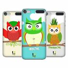 HEAD CASE DESIGNS FRUITOWLICIOUS HARD BACK CASE FOR APPLE iPOD TOUCH MP3