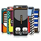 HEAD CASE DESIGNS KNAPSACK GRAPHIC POP HARD BACK CASE FOR APPLE iPOD TOUCH MP3