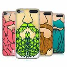 HEAD CASE DESIGNS VIBRANT BEARD HARD BACK CASE FOR APPLE iPOD TOUCH MP3
