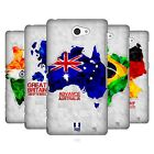 HEAD CASE DESIGNS GEOMETRIC MAPS HARD BACK CASE FOR SONY PHONES 4