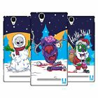 HEAD CASE DESIGNS CHRISTMAS ZOMBIES HARD BACK CASE FOR SONY PHONES 3