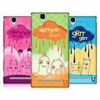 HEAD CASE DESIGNS DOODLE MONSTERS HARD BACK CASE FOR SONY PHONES 3