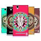 HEAD CASE DESIGNS SKULLS FOLK ART HARD BACK CASE FOR SONY PHONES 3