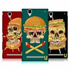 HEAD CASE DESIGNS SKULL SANDWICHES HARD BACK CASE FOR SONY PHONES 3