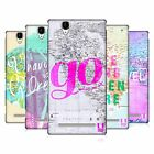HEAD CASE DESIGNS WANDERLUST STATEMENTS HARD BACK CASE FOR SONY PHONES 3