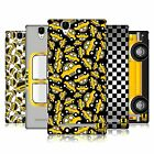 HEAD CASE DESIGNS YELLOW CAB HARD BACK CASE FOR SONY PHONES 3