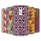 HEAD CASE DESIGNS TRIANGLES SOFT GEL CASE FOR LG PHONES 1
