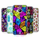 HEAD CASE DESIGNS VIVID PRINTED JEWELS SOFT GEL CASE FOR HTC PHONES 2