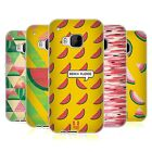 HEAD CASE DESIGNS WATERMELON PRINTS SOFT GEL CASE FOR HTC PHONES 1