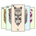 HEAD CASE DESIGNS FEATHER ANIMALS SOFT GEL CASE FOR HUAWEI PHONES