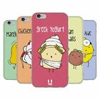 HEAD CASE DESIGNS YUMMY DOODLE SOFT GEL CASE FOR APPLE iPHONE PHONES