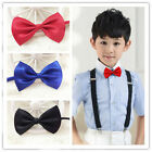 Kids Baby Boy Bow Ties Necktie Bowtie Party Wedding Children Bowknot 16 Colors