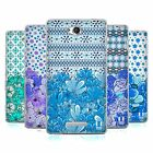 HEAD CASE DESIGNS FLORAL BLUE SOFT GEL CASE FOR SONY PHONES 3