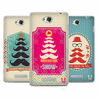 HEAD CASE DESIGNS MOUSTACHE TREES SOFT GEL CASE FOR SONY PHONES 3