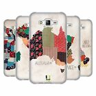 HEAD CASE DESIGNS PATTERNED MAPS SOFT GEL CASE FOR SAMSUNG PHONES 3