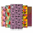HEAD CASE DESIGNS TRIANGLES SOFT GEL CASE FOR SONY PHONES 2