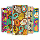 HEAD CASE DESIGNS EGG PATTERNS SOFT GEL CASE FOR SONY PHONES 2