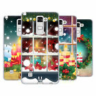 HEAD CASE DESIGNS HOLIDAY CANDLES SOFT GEL CASE FOR LG PHONES 3