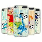 HEAD CASE DESIGNS GEOMETRIC FOOTBALL MOVES GEL CASE FOR APPLE iPOD TOUCH MP3