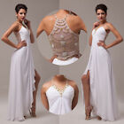 Maternity SEXY Long Prom Dresses Wedding Evening FORMAL Gown Party Bridesmaid GK