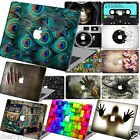 "3D Pattern Painted Hard Laptop Logo Cut Case Cover for Macbook Pro13""15""Air11 12"
