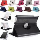 360° Rotating Litch Flip Leather Case Cover Stand For Apple The New iPad 4 3 2