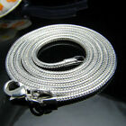 16 ~24 inches 3mm solid silver snake chain necklace for Thanksgiving / XMAS gift