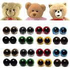 80pcs 10-18mm Color Plastic Safety Eyes Washer For Teddy Bear Doll Animal Puppet