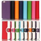 New Flip Vintage Leather Wallet Case Card Cover For Apple iPhone 5 5S 6 /6 Plus