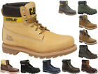MENS CATERPILLAR CAT COLORADO LEATHER CLASSIC WORK WALKING ANKLE BOOTS SIZE 6-15
