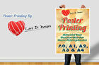 Satin and Gloss Colour Poster printing service A0 A1 A2 A3. Printed Posters