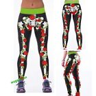 Women YOGA Workout Gym Print Sports Pants Leggings Lady Fitness Stretch Trousers