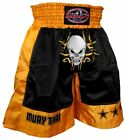 MMA Gear Thai-Brid Head Banger MMA Shorts - Black