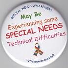 Special Needs  Awareness Badge, Might be having SNs Technical difficulties