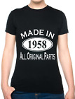 60th Birthday Made In 1956 Gift Ladies T-Shirt Size S-XXL