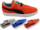 WOMENS GIRLS PUMA CLASSIC SUEDE LACE SPORTS PUMPS TRAINERS SHOES SIZE 3 - 5 NEW