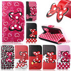 Pretty Butterfly Flip Leather Wallet Protect Case Cover For iPhone 5G 5S / Jaccy
