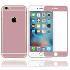 Rose Gold Full Coverage Tempered Glass Screen Protector for iPhone 6/6S Plus