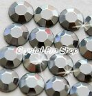 Grey Iron On Faceted Hot Fix Rhinestuds Flatback Shine Gems Tool 2mm 3mm 4mm 5mm