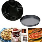 "5""-10""Non-Stick Cake Round Dish Tray Pizza Pan Tins Kitchen Baking Tool Bakeware"