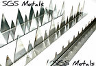 High Security Spikes 900mm Long Galv Steel Very Sharp Walls Fencing Windows Shed