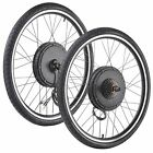 """48V1000W26"""" Front/Rear Wheel Electric Bicycle Motor Kit EBike Cycling Conversion"""