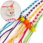 Hamster Leash Lead Adjustable Pet Rat Mouse Guinea Pig Squirrel Rope Collar UK