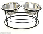 Bone Pet Diner Elevated 2-Bowl Raised Dog Feeder