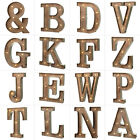 A-Z METAL WOOD VINTAGE ILLUMINATED CARNIVAL LIGHT UP CIRCUS BATTERY LED LETTERS