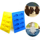 Minifigure Figure Ice Cube Silicone Mold Tray Jelly Dessert Candy 1pc
