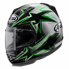 Arai Defiant Asteroid Helmet, Green - All Sizes!