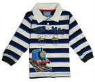 Thomas Friends Infant Boys Long Sleeve Striped Polo Shirt Size 18 24 Months New