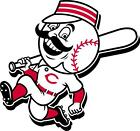 Cincinnati Reds vehicle window or hard surface decal (LAMINATED)