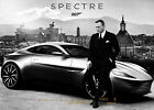 James Bond 007 with Sports Car Poster - Wall Art - 4 sizes to choose from! £12.41 GBP on eBay